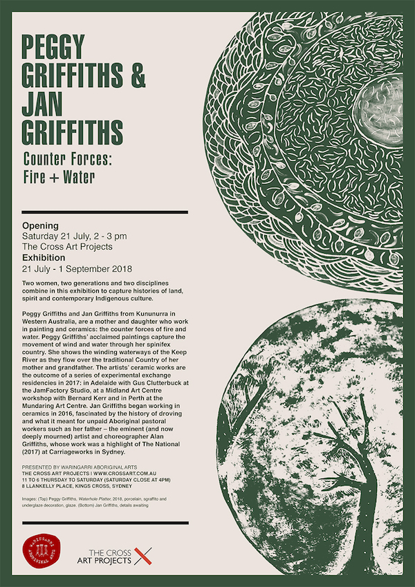 Counter Forces Art Exhibition Invite at The Cross Art Projects